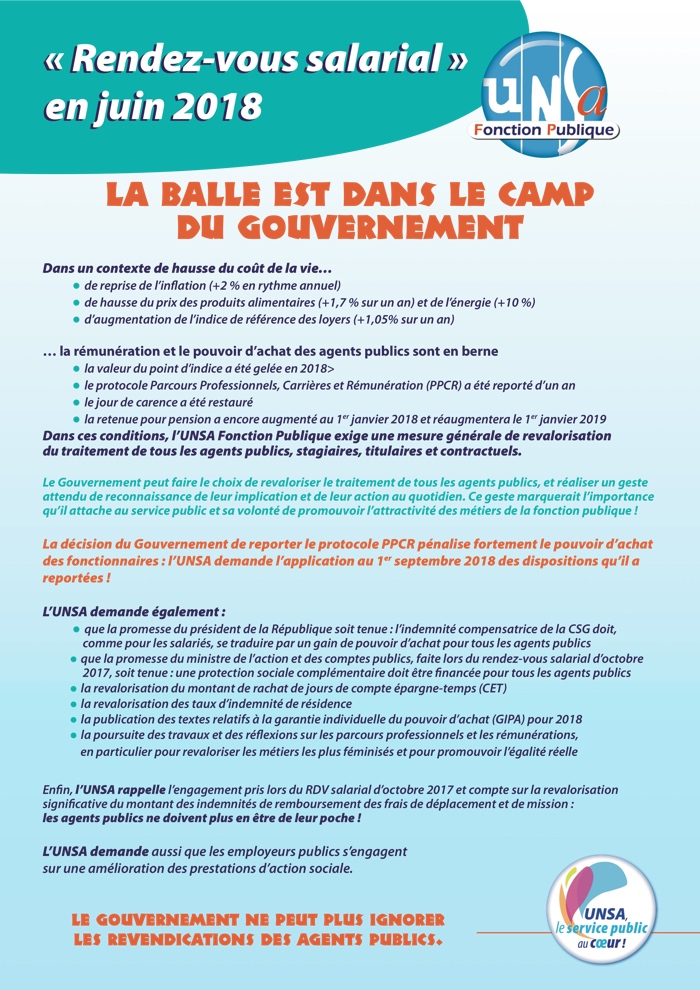 tract rendez vous salarial