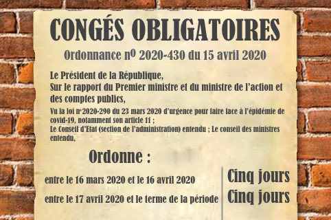 conges obligatoires