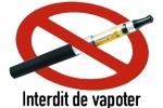 interdiction vapoter